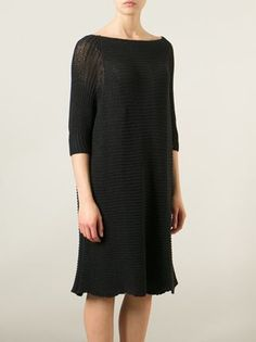 Forme D'Expression Flared Chunky Knit LBD.