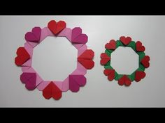 TUTORIAL - Simple Heart Wreath - YouTube