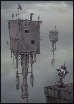 The Houses of Silence - James Flaxman (jflaxman @ Deviantart)