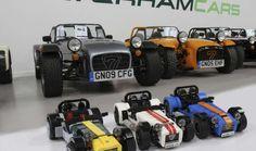 Caterham Seven al estilo LEGO - Autocosmos.com
