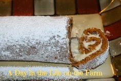 A Day in the Life on the Farm: Pumpkin Roll~~#PumpkinWeek