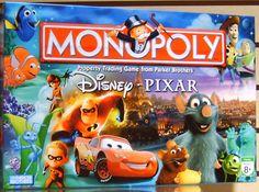 Disney Games, Disney Fun, Disney Magic, Disney Pixar, Monopoly Board, Monopoly Game, Family Game Night, Family Games, Baby Disney Characters