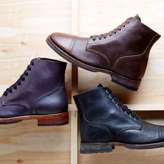 Florsheim by Duckie Brown -                                                                        Ludgate Boot                                 Ludgate Boot                                 Ludgate Boot       #Boot, #Cap, #Laceup