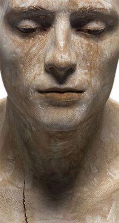 Bruno Walpoth - wooden sculpture
