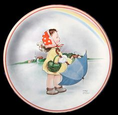 Mabel Lucie Attwell plate | Flickr
