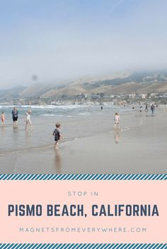 Pismo Beach, Pacific Coast, California Travel, Places To Go, Magnets, Things To Do, Traveling, Camping, Vacation
