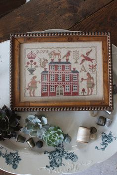 Can't wait to take this class with Blackbird Designs at Country Sampler!