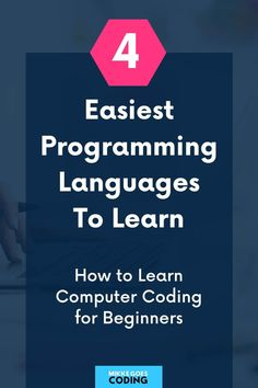 Are you looking for an easy programming language for beginners to learn this year? Congrats! Use this free comparison guide to find the best computer coding language for absolute beginners to make your learning experience as smooth and fast as possible. These languages are the most popular ones for web development, software development, and much more: JavaScript, Python, Ruby, and Java – perfect for learning how to code from scratch. #programming #coding #webdevelopment #tech #mikkegoes Computer Programming Languages, Coding Languages, Learn Programming, Learn Computer Coding, Best Computer, Learning Web, Learning Resources, Learn Ruby, Coding For Beginners