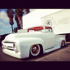 White Ford Truck At SD Rod and Custom - @bobbytribal   Webstagram