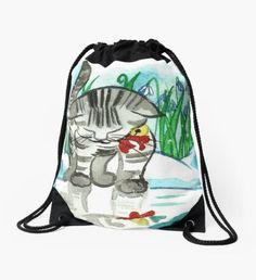 Hello There Drawstring Bag Fashion Art, Autumn Fashion, Winter Fairy, Green Palette, Winter Landscape, Christmas Art, Winter Time, Mint Green, Girly