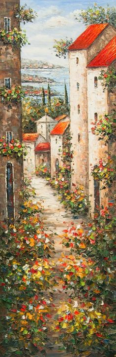 Painting artwork is soothing and relaxing for a painter, always! Here, today, we'll get you some easy and simple landscape painting ideas so you can create and try on your hands with no worries of finding 'what to paint'. Pinturas Em Tom Pastel, Easy Landscape Paintings, Urbane Kunst, Beautiful Paintings, Love Art, Painting Inspiration, Amazing Art, Watercolor Paintings, Art Photography