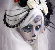 day of the dead bride by rochelle