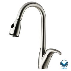 @Overstock - VIGO Dual Spray Control Stainless Steel Pull-Out Spray Kitchen Faucet - Update your kitchen sink with this pull-out stainless-steel faucet from Vigo. This sleek faucet has a handy spray fixture and hose thats integrated with the spout. The spray adjusts from full to needle spray, and the faucet has a drip-free cartridge.  http://www.overstock.com/Home-Garden/VIGO-Dual-Spray-Control-Stainless-Steel-Pull-Out-Spray-Kitchen-Faucet/4469246/product.html?CID=214117 Add to cart to see…