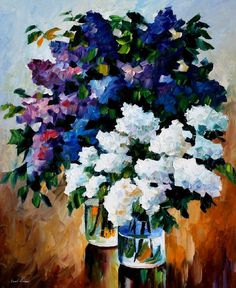 TWO SPRING COLORS - Palette knife Oil Painting  on Canvas by Leonid Afremov http://afremov.com/TWO-SPRING-COLORS-Palette-knife-Oil-Painting-on-Canvas-by-Leonid-Afremov-Size-36-x30.html?bid=1&partner=20921&utm_medium=/vpin&utm_campaign=v-ADD-YOUR&utm_source=s-vpin
