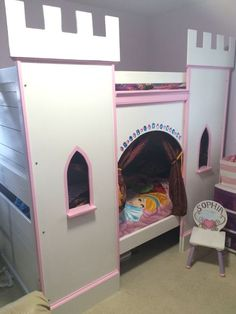 Picture of Princess Castle Bunk-Bed