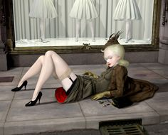 New Ray Caesar works and exhibition in Los Angeles. Sweet, fun, surreal goodness. http://eclectix.com/blog/2013/04/17/new-ray-caesar-works/