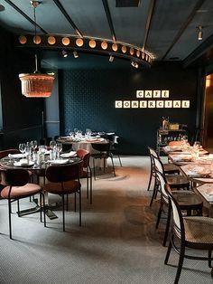 Madrid o'clock — Cup of Couple Mexican Restaurant Design, Organic Restaurant, Architecture Restaurant, Restaurant Signs, Restaurant Branding, Restaurant Interior Design, Cafe Interior, Restaurant Owner, Restaurant Furniture