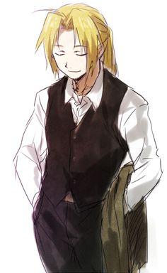Edward Elric as a butle!!!!!!!!!! bwahahahahah no.