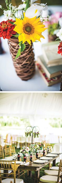 Small town charm, country-chic wedding inspiration by Waldorf Photographic Art   The Pink Bride www.thepinkbride.com