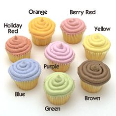 Natural Food Colors Made from vegetables instead of petrochemicals.
