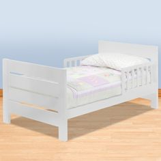 DaVinci Kids Modena Toddler Bed WhiteI Wonder How Long A 3 Year