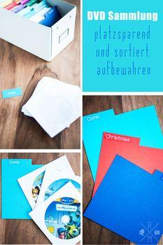 Organize my life - DVDs und BlueRays platzsparend und kategorisiert aufbewahren | relleomein.de #organize