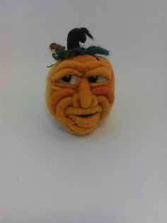 Check out this item in my Etsy shop https://www.etsy.com/listing/200859363/needle-felted-pumpkin-clyde-5