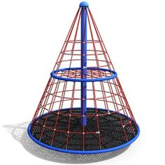 Apollo with Floor rotating net climber by Dynamo Playgrounds Park Playground, Backyard Playground, Playground Ideas, Backyard Toys, Outdoor Play Areas, Outdoor Toys, Outdoor Fun, Noah's Park, Steel Deck