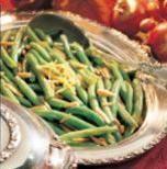 1/8 tsp  salt 1 1/2 lbs  green beans, trimmed 2 Tbl  unsalted butter 1/3 cup  silvered almonds, chopped 2 Tbls  lemon juice