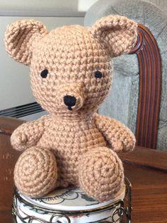 Little Bigfoot Bear pattern by Sharon Ojala