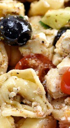 Easy Toretilini Pasta Salad