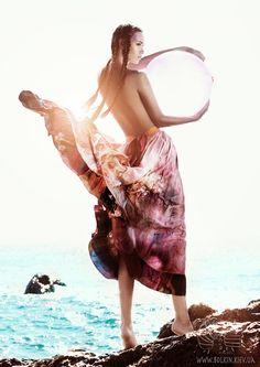 Sea Fashion by Viсtoria Bolkina, via Behance