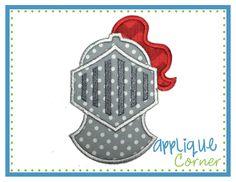 Knight Applique Design