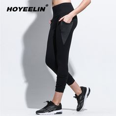 Find More Yoga Pants Information about HoYeeLin Yoga Leggings High Waist Sports Pants With Pockets Leggins Sport Women Fitness Running Tracksuits Push Up Gym Tights,High Quality Yoga Pants from HoYeeLin Official Store on Aliexpress.com Women's Sports Leggings, Yoga Leggings, Yoga Pants, Harem Pants, Sport Pants, Sports Women, Push Up, Fit Women, Capri Pants