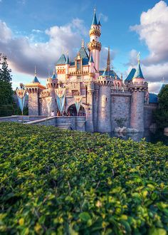 Castle in Disneyland, CA