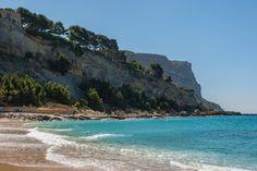 La Plage de la Grande Mer à Cassis, Bouches-du-Rhone : Les plus belles plages de Méditerranée - Linternaute