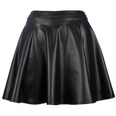 I have wanted this leather skirt since seeing Kerry Washington photographed wearing it. :D
