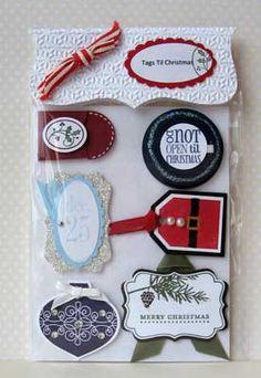 Tags Till Christmas  Card Candy