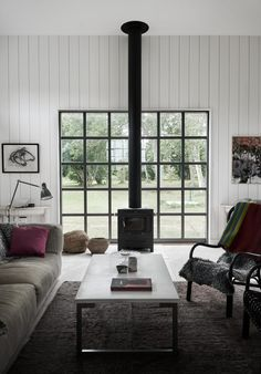 Villa AK, Hamra, Gotland – M.Arkitektur Interior, Home, Modern Cabin, Architectural Inspiration, Interior Styling, House Inspiration, Forest Cottage, House Interior, Sweden House