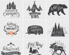 I Love My Tribe Camping SVG File Cricut SVG File by HollyPixels