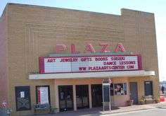 The Plaza - Former movie theater and current Arts Plaza, a Carrollton, TX landmark.