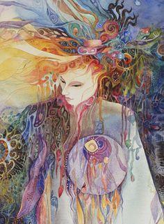 Brigid Walks the Land by Helena Nelson Reed
