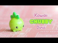 Watch in HD :) In this tutorial I show you how to make a kawaii chubby Dino charm using polymer clay! Polymer Clay Kawaii, Fimo Clay, Polymer Clay Projects, Polymer Clay Charms, Polymer Clay Creations, Polymer Clay Jewelry, Clay Crafts For Kids, Clay Pot Crafts, Diy Crafts