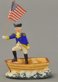 GEORGE WASHINGTON CANDY CONTAINER.....  This belongs on the dash of the red car!   Hahahaha
