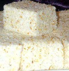Coconut Marshmallows recipe by Mrs Admin (mashuda) posted on 21 Jan 2017 . Recipe has a rating of by 3 members and the recipe belongs in the Snacks, Sweets recipes category Halal Recipes, Sweets Recipes, Just Desserts, Delicious Desserts, Yummy Food, Diwali Recipes, Tea Recipes, Curry Recipes, Sweets