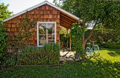 Garden Shed traditional-garage-and-shed