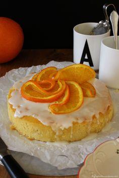 Rezept für ein Buttermilch Törtchen mit Orange