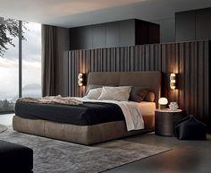 Modern Mens Bedroom 22 bachelor's pad bedrooms for young energetic men | bedrooms, bed