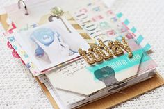 video of mini album using Crate Paper Maggie Holmes collection.