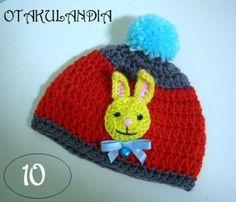 Gorro Conejito Amarillo - diseñado y realizado a mano en crochet para mantener calentitos a los más peques de la casa, es divertido, cálido y confortable, perfecto para un bebé!